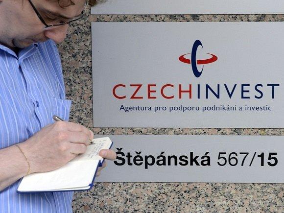 Protikorupční policie 8. srpna 2012 od rána prohledává kanceláře státní agentury CzechInvest ve Štěpánské ulici v Praze.