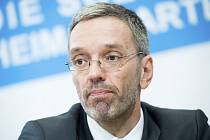 Rakouský ministr vnitra Herbert Kickl ze Svobodné strany Rakouska (FPÖ)