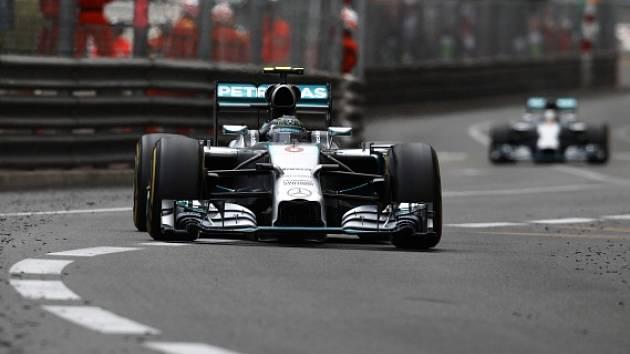 Nico Rosberg v Monte Carlu