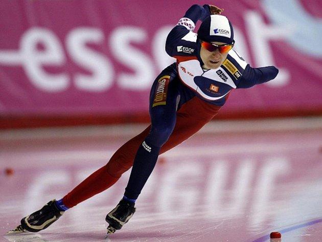 Rychlobruslařka Martina Sáblíková získala na MS ve víceboji v Calgary bronz.