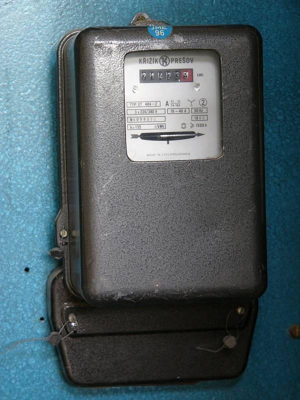 Měřič elektrické energie - Ilustrační foto