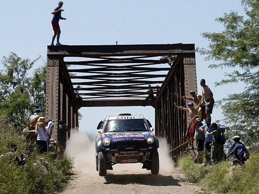 První etapa Dakaru: Násir Attíja