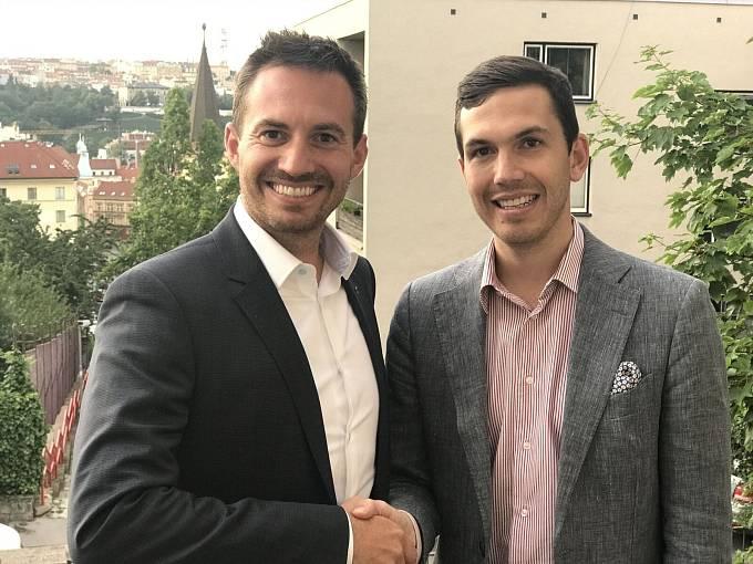 Majitelé Favoritu Richard Galovič (vlevo) a Michal Mička (vpravo).