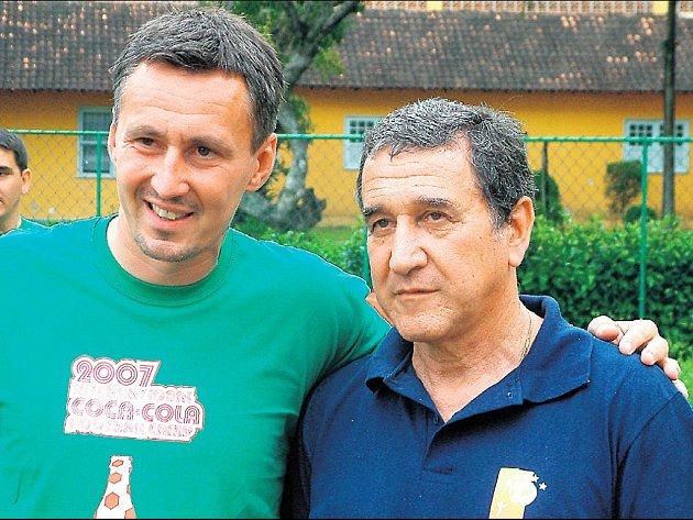 Milan Duhan, bývalý útočník Ostravy a Hradce Králové, vede zatím kluky v Hlučíně. V tréninkové akademii v Riu však nasbíral řadu nových poznatků přímo od slavného Parreiry.