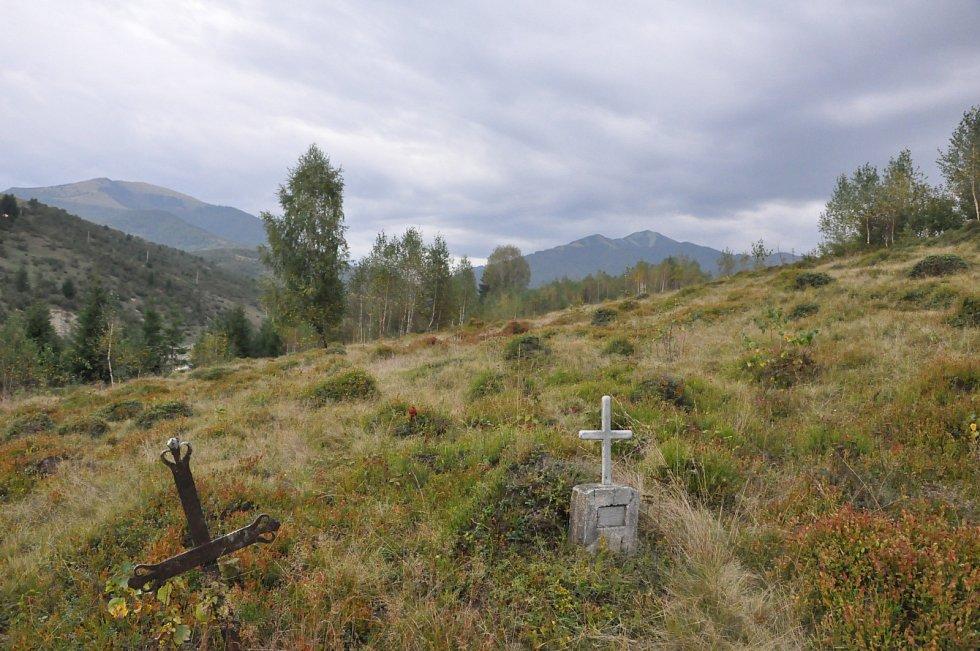 Hřbitov  v Koločavě