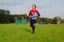 Anna Luxová během tréninku