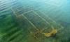 Pozůstatky baziliky v tureckém jezeře Íznik