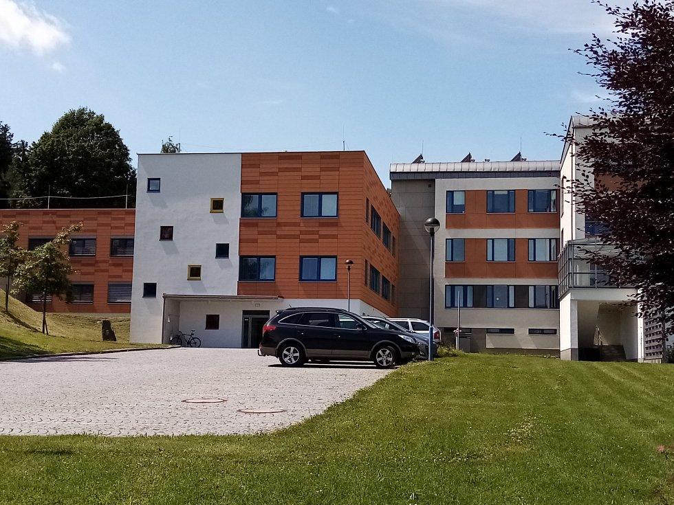 Dětské oddělení nemocnice v Novém městě na Moravě