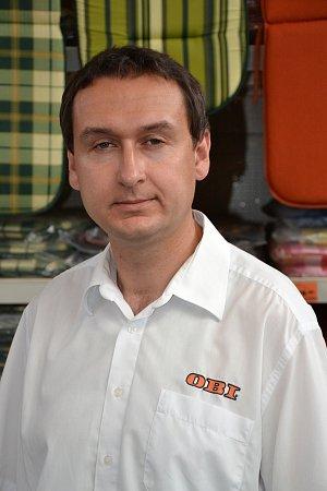 Marek Procházka, vedoucí prodeje, OBI Beroun