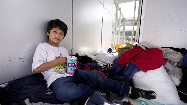 Dětí, které míří do USA, jsou tisíce.