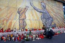 Pieta u dolu ČSM ve Stonavě