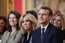 Emmanuel Macron s chotí
