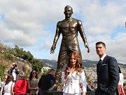Cristiano Ronaldo má na Madeiře sochu