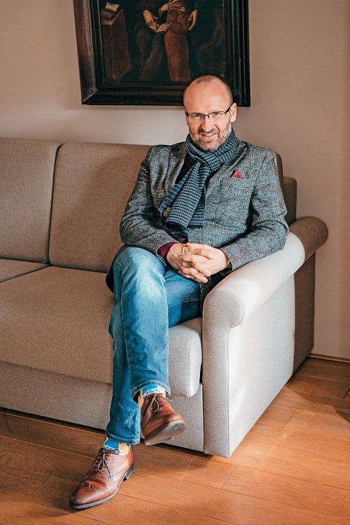 """""""Mám rád německou a rakouskou kuchyni. Jednoduchá jídla připravená z kvalitních surovin,"""" říká Jiří Gajdošík."""