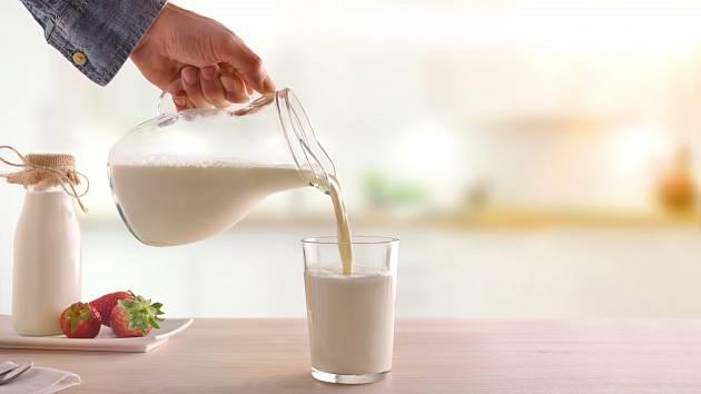 Mlékem dodáme tělu vysoce kvalitní bílkoviny, vitaminy či vápník