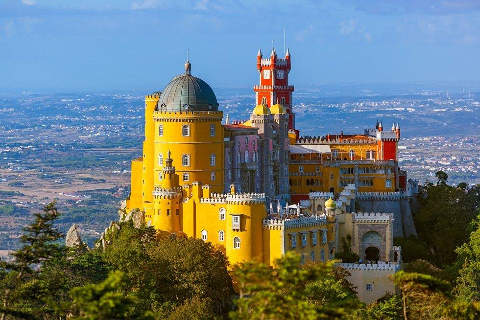 Palác Pena, Sintra - Portugalsko