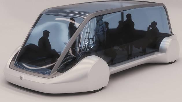 Model podzemního autobusu Urban Loop