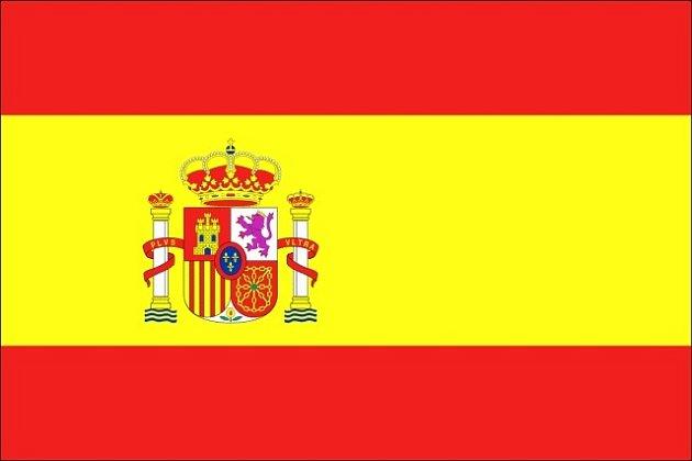 španělsko, vlajka, španělská