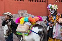 Svátek zesnulých po mexicku