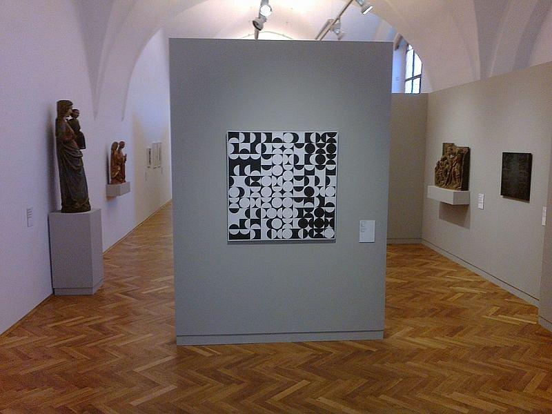 Obraz Zdeňka Sýkory v Alšově jihočeské galerii