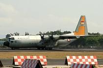 Stroj Lockheed C-130H-30 Hercules v době, kdy s ním bylo ještě všechno v pořádku. Před 30 lety však jeho let skončil katastrofou