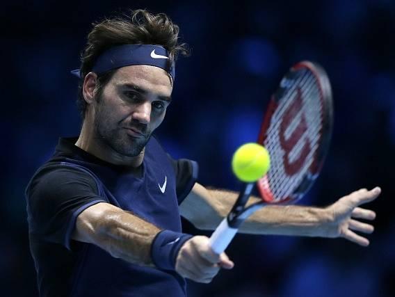 Roger Federer ve finále Turnaje mistrů