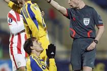 Milan Obradovič z Charkova prosil rozhodčího marně. Ukrajinci přesto řecký Olympiakos přehráli.