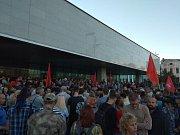 Protesty po volbách ve Vladivostoku