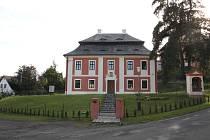 Dům zámeckých kaplanů - fara, venkovní pohled