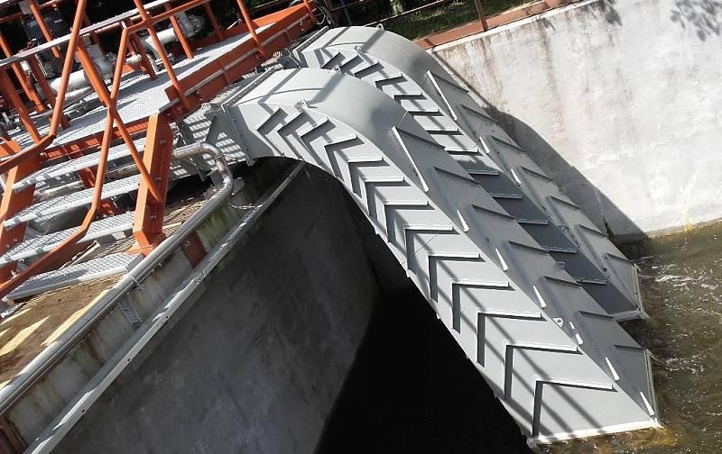 Nové technologie v obnovitelných zdrojích energie nasazené v praxi - vírová turbína pro využití na nízkých spádech (MVE Želina, 2016)