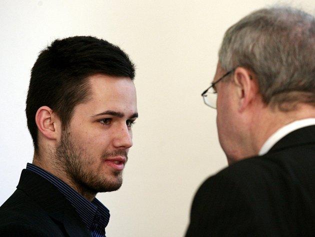 Vlevo odsouzený Patrik Kaifáš.