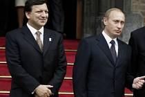 José Manuel Barosso a Vladimir Putin.