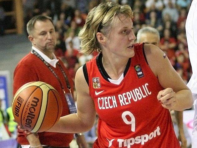 Kapitánka českých basketbalistek Hana Horáková.