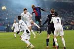 Ze zápasu FC Basilej - AC Fiorentina