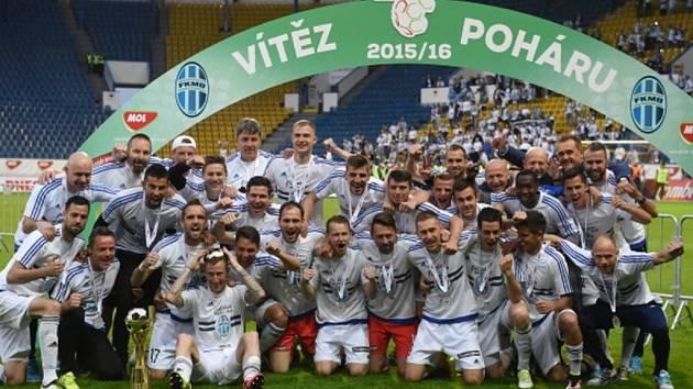 Fotbalisté Mladé Boleslavi podruhé v historii získali český pohár.