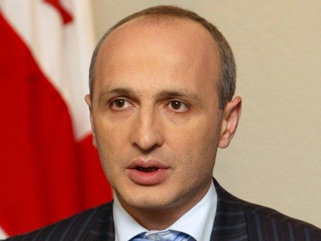 Gruzínský premiér Vano Merabišvili.