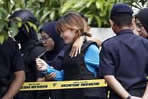 Vietnamka Doan Thi Huong je přiváděna k soudu v Sepangu