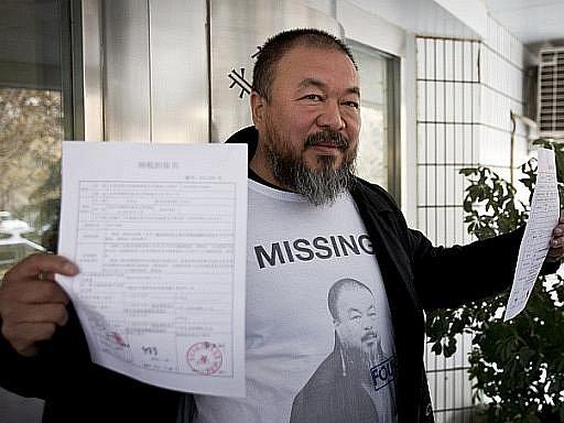 Čínský disidentský výtvarník Aj Wej-wej