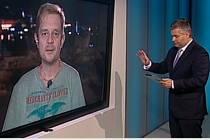 Petr Čtvrtníček v pořadu Události, komentáře.