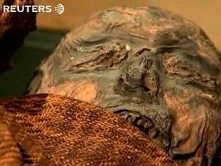 Mumie dánské divoženky.