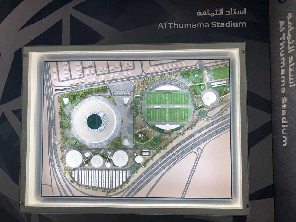 Al Thumama Stadium.