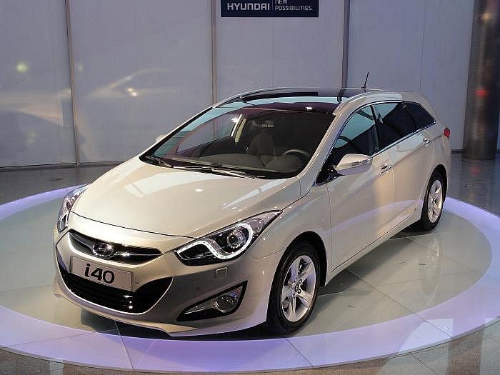 Hyundai i40 – první prezentace.