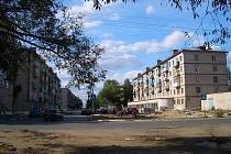 Panelové domy v Rusku
