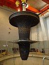 Kaplanova turbína. Elektrárna Kamýk