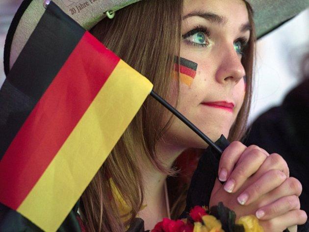 Fanynka Německa.
