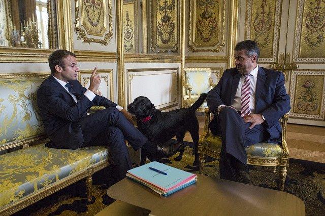 s německým ministrem zahraničí Sigmarem Gabrielem