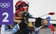 Michal Krčmář na olympijských hrách v Pchjongčchangu.