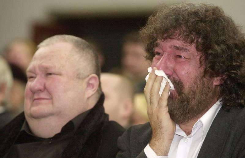 Růžičkové snoubenec Václav Glazar a režisér Zdeněk Troška