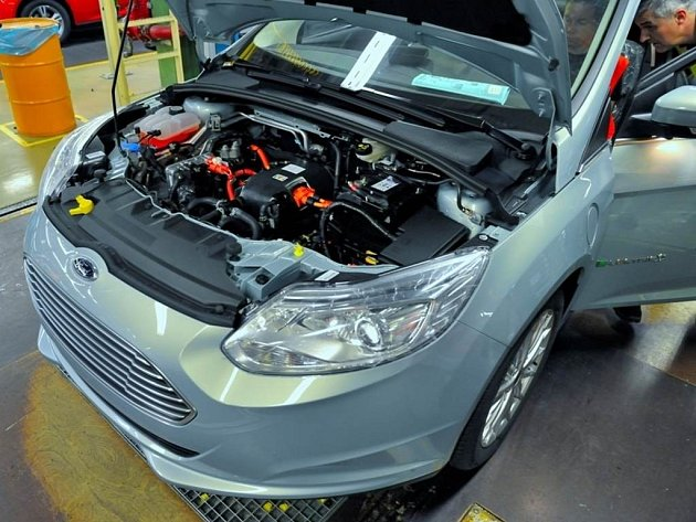 Ford Focus Electric.