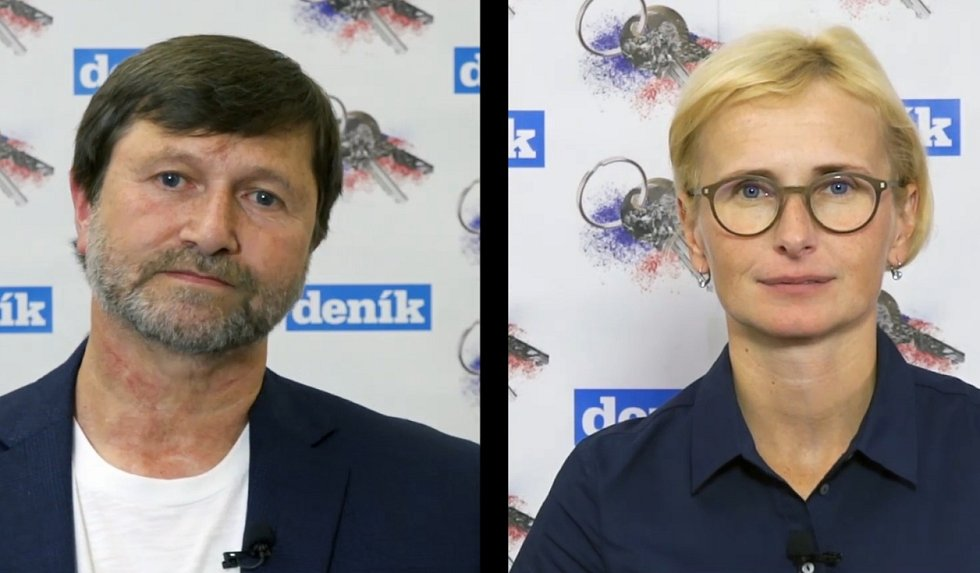 Jan Hrušínský a Kateřina Konečná. Polistopadový vývoj.